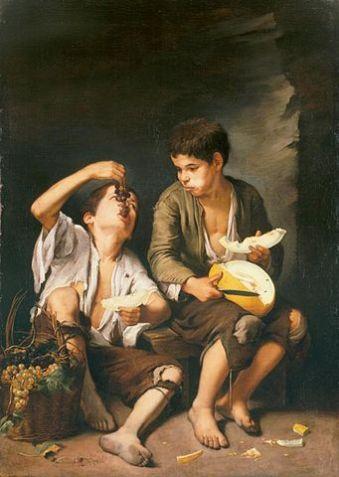 341px-Bartolomé_Esteban_Perez_Murillo_-_Trauben-_und_Melonenesser