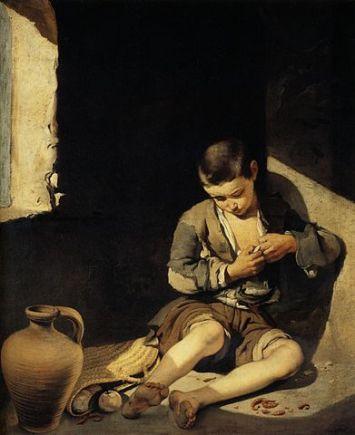 391px-Bartolomé_Esteban_Murillo_-_The_Young_Beggar